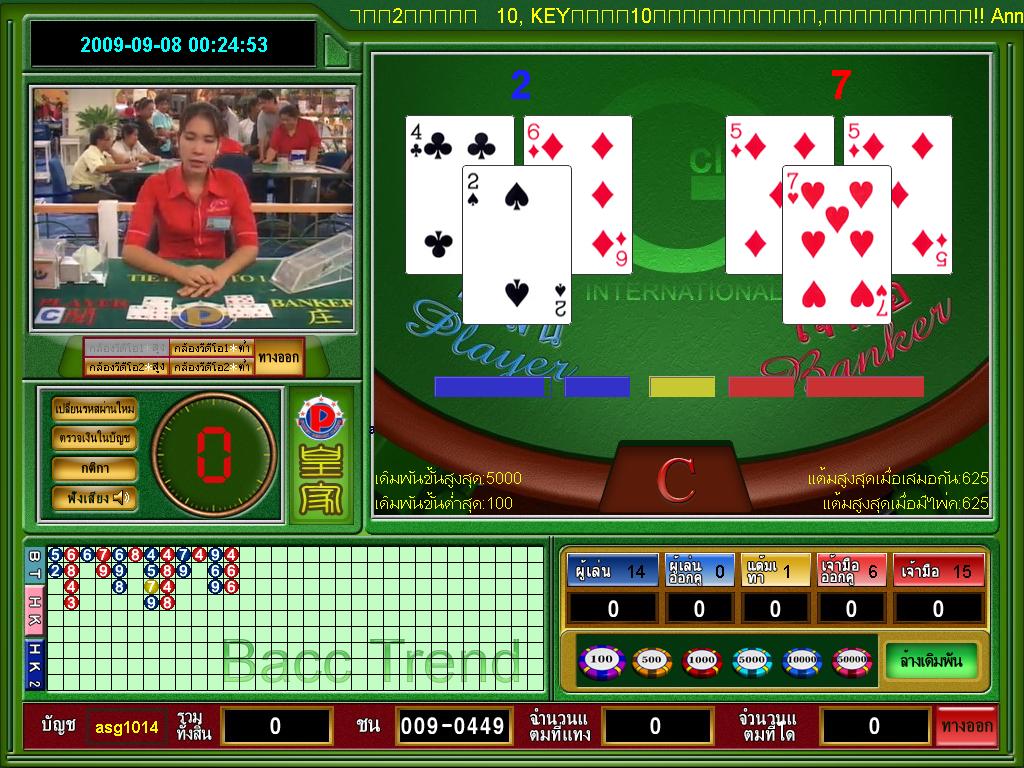 Gclub casino baccarat